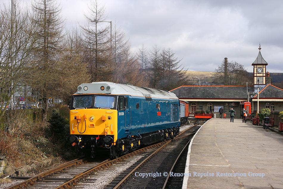50008 Rawtenstall 13th March 2010