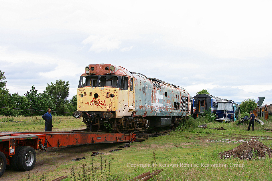 50040 leaving Coventry for the last time