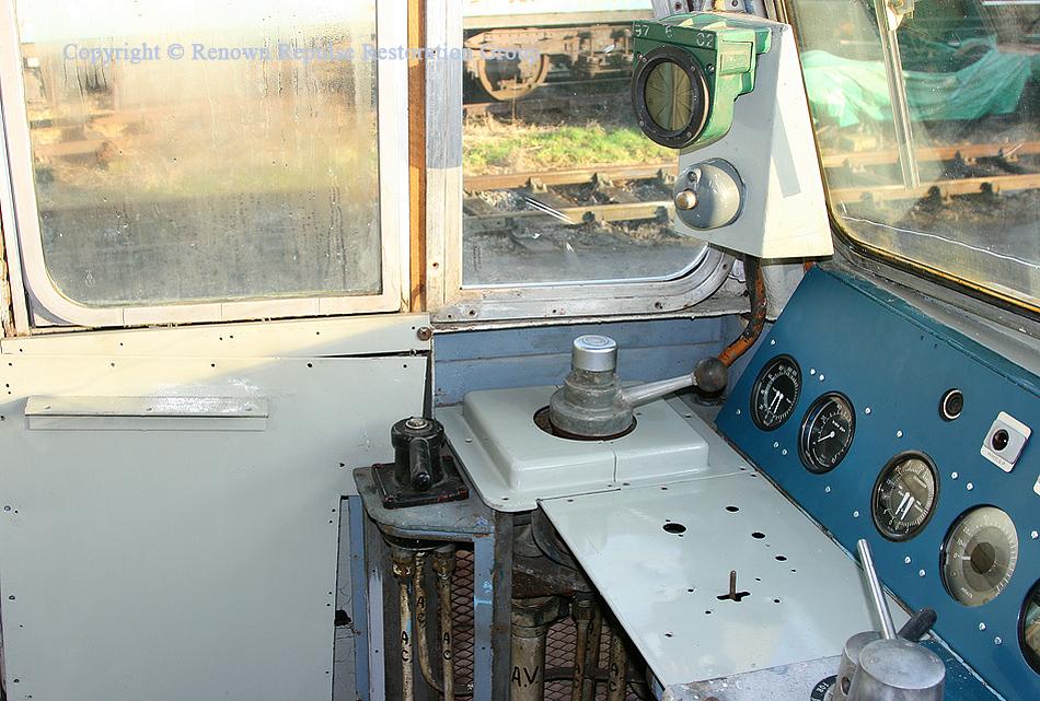 50030 cab AWS equipment