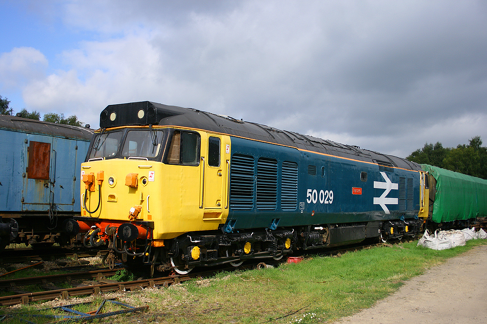 50029 at Rowsley 16th September 2007