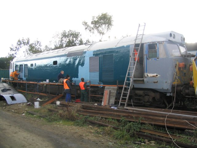 More 50030 bodywork restoration October 2003