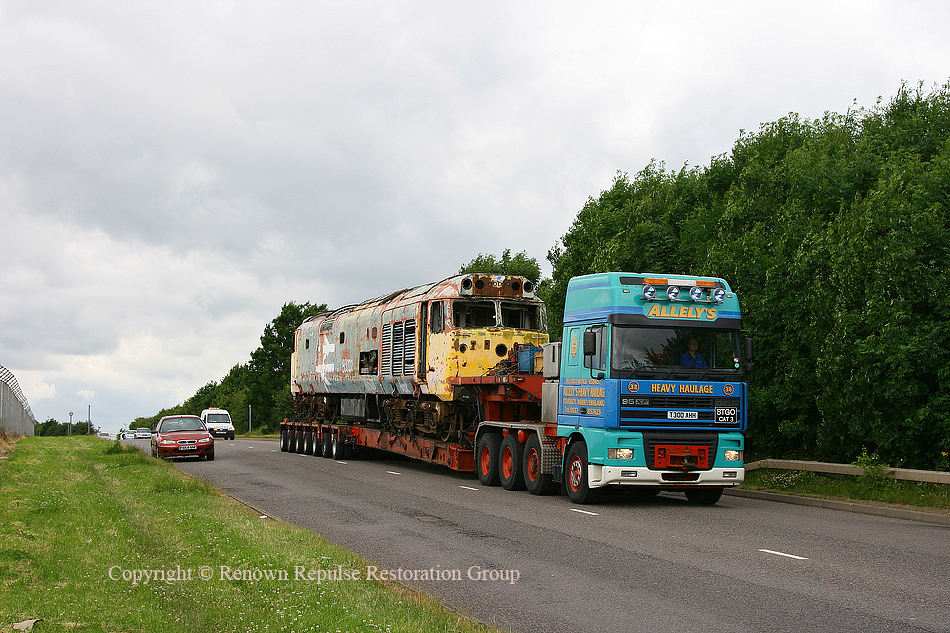 50040 setting off for the scrapyard
