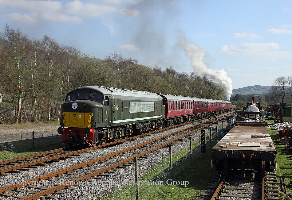 D8 Rowsley 1st April 2012