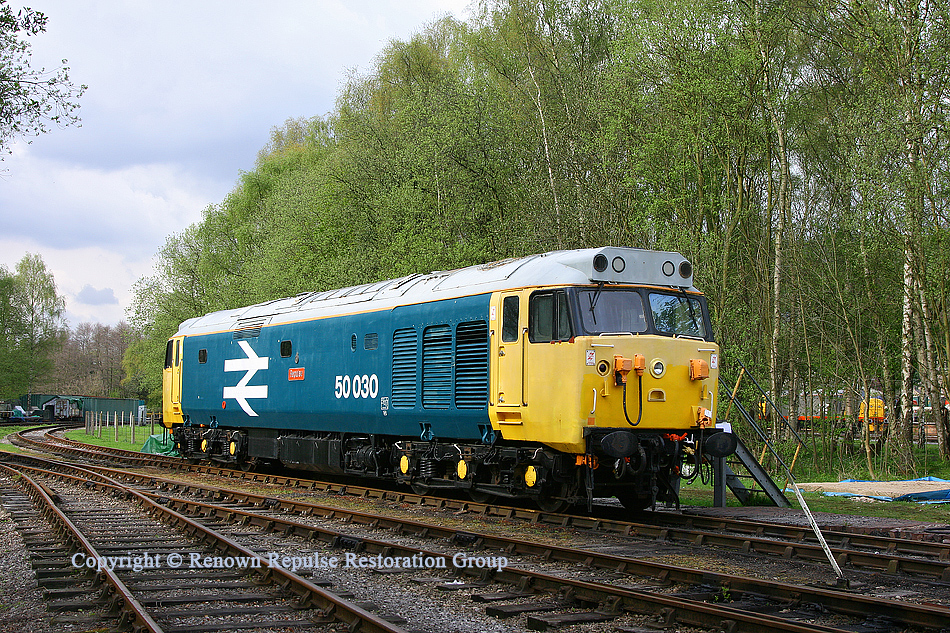 50030 at Rowsley