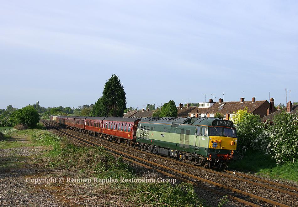 50044 heading towards Leamington Spa