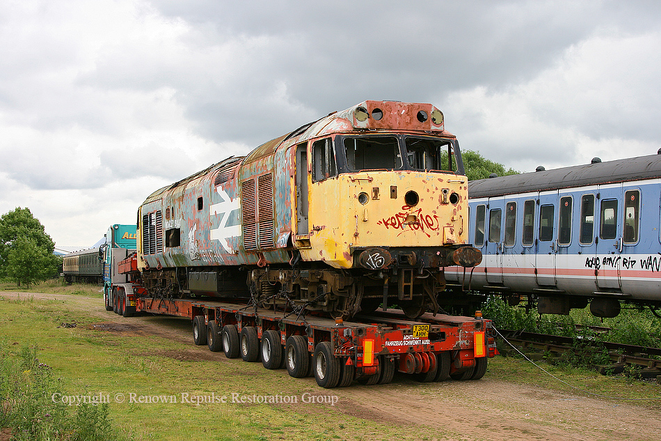 50040 leaving Coventry