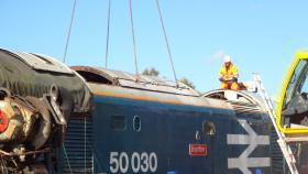 50030 Power Unit Lift, Peak Rail, Rowsley 290920 (124)