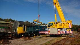 50030 Power Unit Lift, Peak Rail, Rowsley 290920 (78)