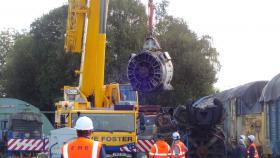 50030 Power Unit Lift, Peak Rail, Rowsley 290920 (160)