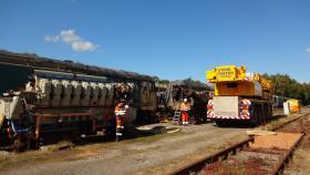 50030 Power Unit Lift, Peak Rail, Rowsley 290920 (130)