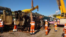 50030 Power Unit Lift, Peak Rail, Rowsley 290920 (105)