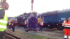 50030 Power Unit Lift, Peak Rail, Rowsley 290920 (167)