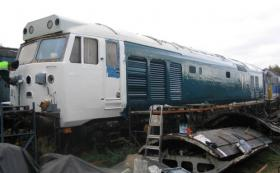 50030 bodywork restoration October 2003