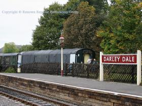 RRRG's second coach seen at Darley Dale before it moved to Rowsley