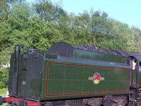 70013 Oliver Cromwell visits Peak Rail May 2012