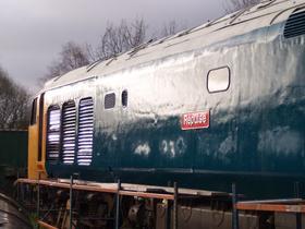 50030 bodywork restoration is nearly complete in December 2003