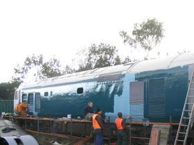 More 50030 bodywork restoration October 2003