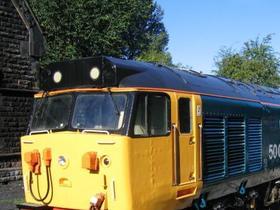 50003 and 50030 at Darley Dale September 2005