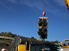 50030 Power Unit Lift, Peak Rail, Rowsley 290920 (86)