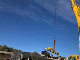 50030 Power Unit Lift, Peak Rail, Rowsley 290920 (80)