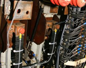 Traction motor contactors