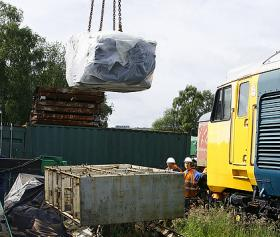 Offloading a traction motor