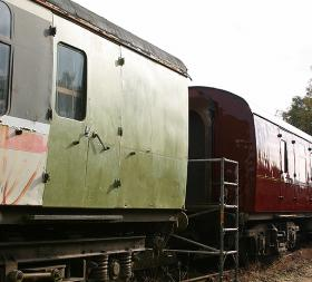 RRRG's mess and workshop coach owned by a member