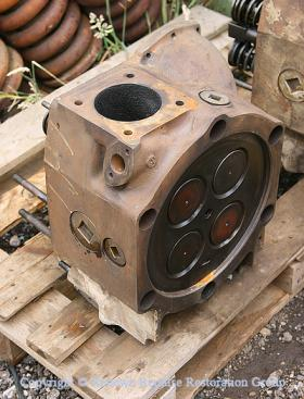Part overhauled cylinder head