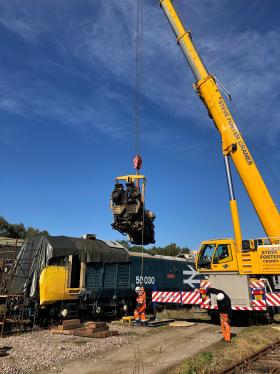 50030 Power Unit Lift, Peak Rail, Rowsley 290920 (85)