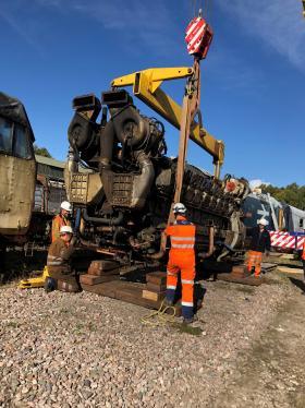 50030 Power Unit Lift, Peak Rail, Rowsley 290920 (98)