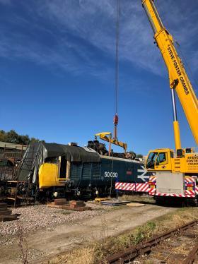 50030 Power Unit Lift, Peak Rail, Rowsley 290920 (81)