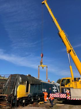 50030 Power Unit Lift, Peak Rail, Rowsley 290920 (68)