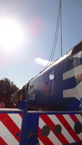 50030 Power Unit Lift, Peak Rail, Rowsley 290920 (125)