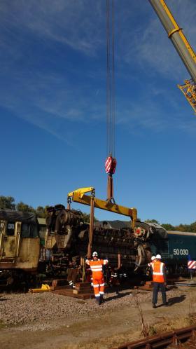 50030 Power Unit Lift, Peak Rail, Rowsley 290920 (90)