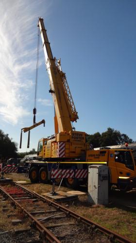 50030 Power Unit Lift, Peak Rail, Rowsley 290920 (108)