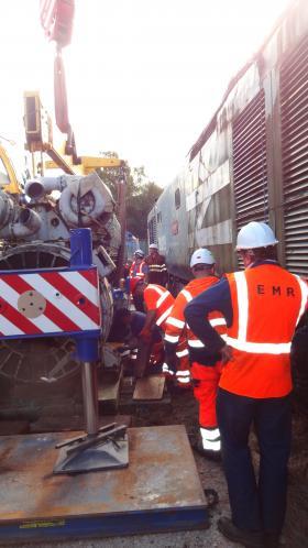 50030 Power Unit Lift, Peak Rail, Rowsley 290920 (141)