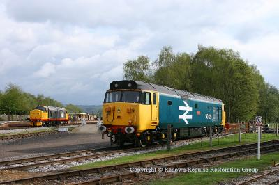 50029 at Rowsley on 8th May 2010