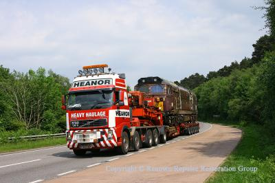 50017 on the A38