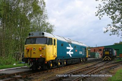 50030 at Rowsley on 8th May 2010