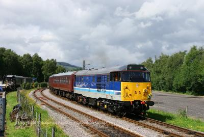 31270 leaving Rowsley South 19th July 2008