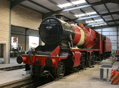 8F 48624 nearing the end of restoration