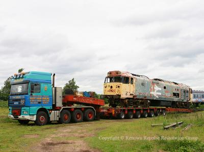 50040 on the trailer