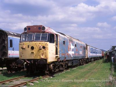 50040 at Coventry in 2007