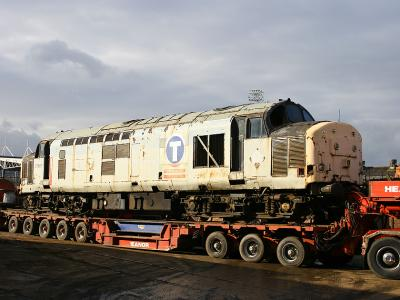 37887 arrived at Booths