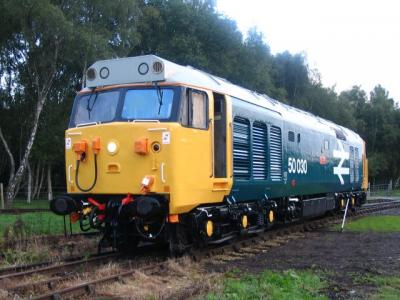 50030 displayed at Rowsley September 2004
