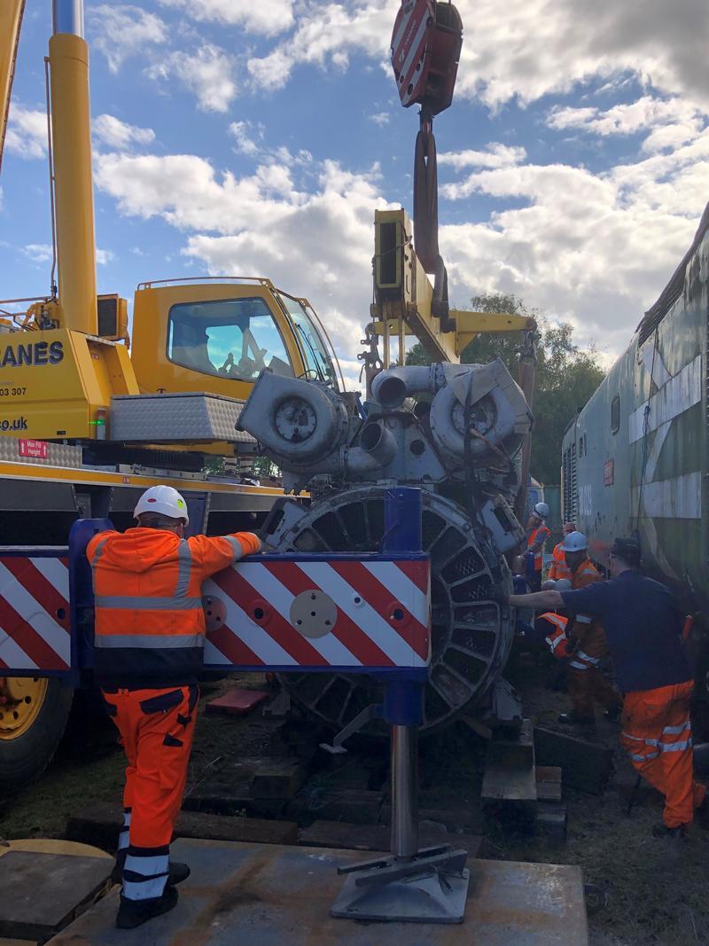 50030 Power Unit Lift, Peak Rail, Rowsley 290920 (146)