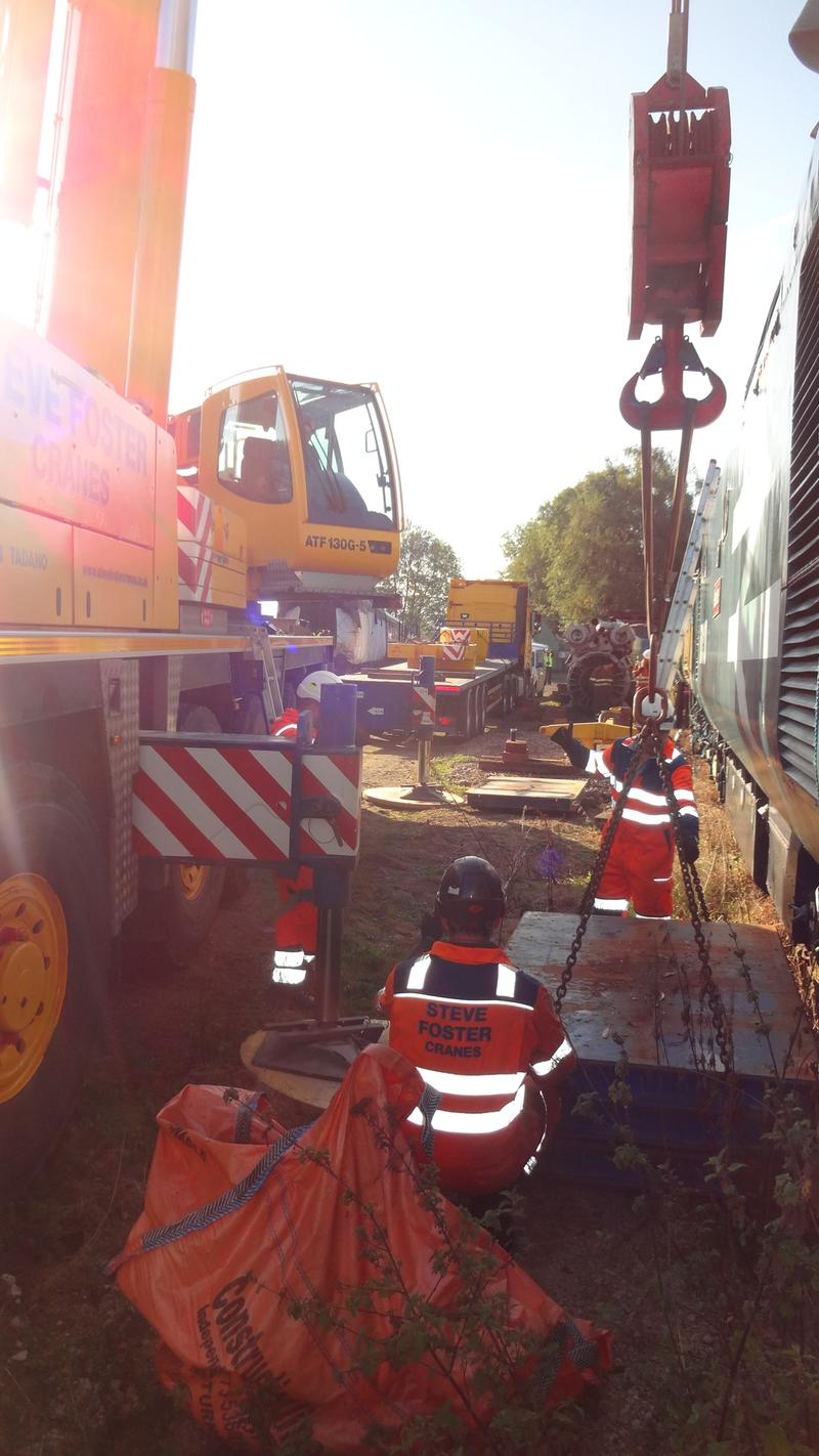50030 Power Unit Lift, Peak Rail, Rowsley 290920 (42)