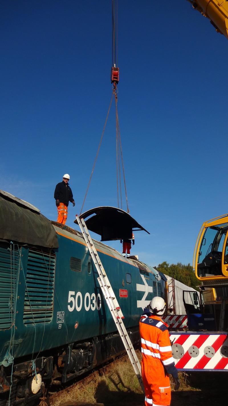 50030 Power Unit Lift, Peak Rail, Rowsley 290920 (49)