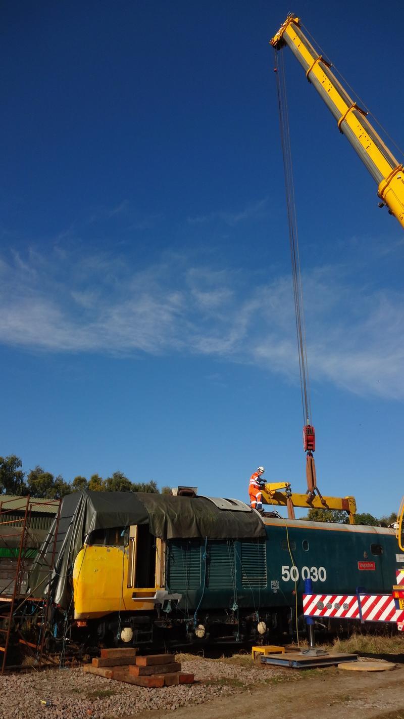 50030 Power Unit Lift, Peak Rail, Rowsley 290920 (75)