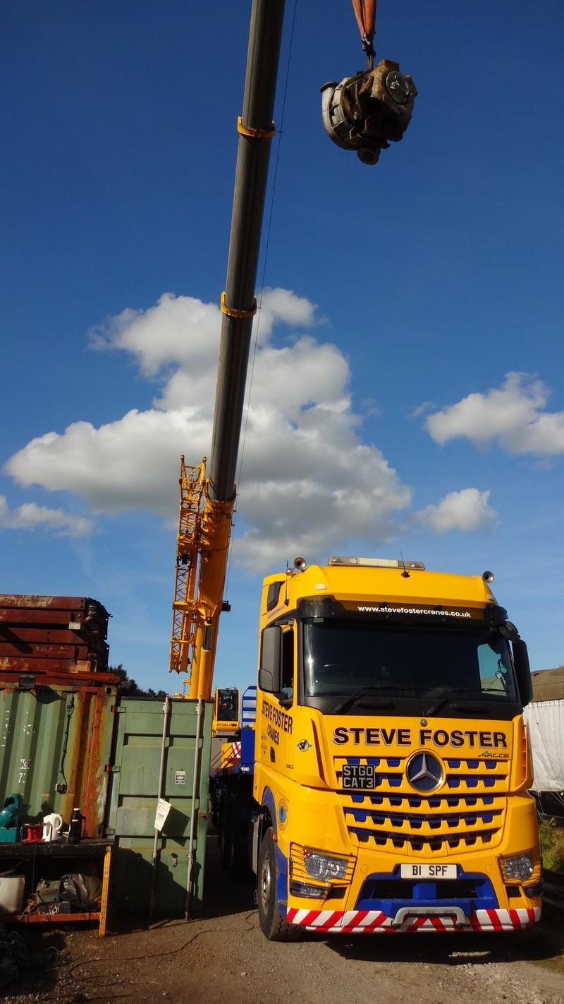 50030 Power Unit Lift, Peak Rail, Rowsley 290920 (175)